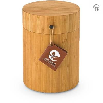 Bamboe urn Eco Burial™