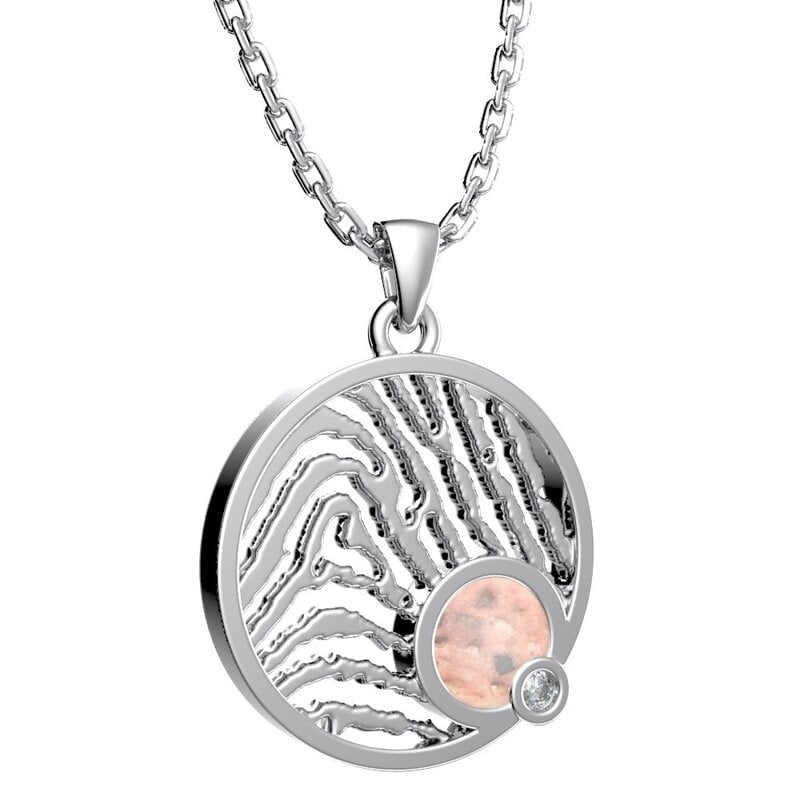 Royolz fingerprint jewelry met as